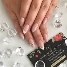 hard gel extensions sculpted nails