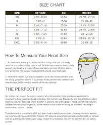 Shoei Nxr Size Chart Shoei Nxr Helmet Size Chart