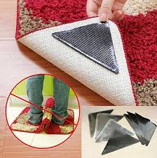 ruggies rug carpet mat grippers non slip grip corners pad anti skid reusable washable silicone tidy ooa5134 carpet non slip mat ruggie non slip mat rug