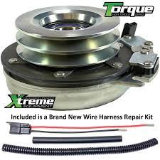 bundle 2 items pto electric blade clutch wire harness repair kit bundle 2 items pto electric blade clutch wire harness repair kit replaces