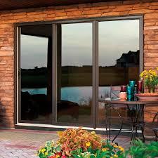marvin exterior doors fiberglass. sliding patio door / wooden fiberglass double-glazed - wood-ultrex marvin exterior doors 7