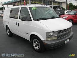 2001 Chevrolet Astro Commercial Van in Ivory White - 101610 ...