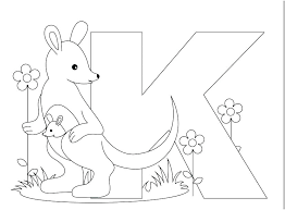 Realistic Coloring Pages Of The Alphabet I5530 Extraordinay Alphabet