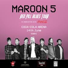 Coca Cola Coliseum Seating Chart Concert Maroon 5 Red Pill Blues Tour Platinumlist Net