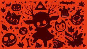 Halloween-themed desktop wallpaper ...