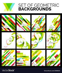 Flyer Backgrounds Free Set Of Flyer Templates Abstract Backgrounds