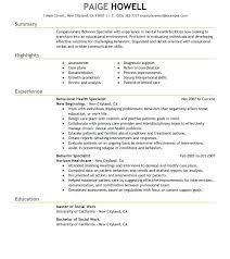 Social Work Resume Exceptional Social Worker Resume Sample Licensed