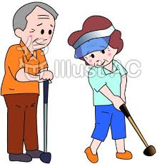 「ゴルフイラスト無料」の画像検索結果