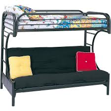 Bunk Bed Eclipse Twin Over Futon Metal Bunk Bed Multiple Colors Walmartcom
