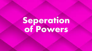 constitutional law separation of powers