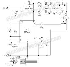 jumbo flashing led lights flashing led lights circuit schematic