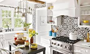 kitchen cluny cement tile backsplash