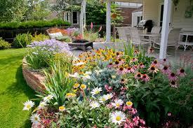 pretty perennial garden design