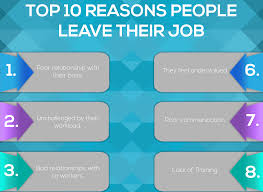 Good Reasons To Leave A Job Top 10 Reasons People Leave Their Job Utility People