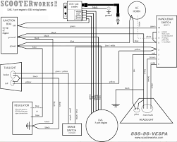 scooter engine largeframe scooters scooterworks usa Vespa Wiring Diagram the wiring diagram can be found here vespa wiring diagram free
