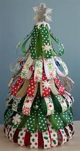 Cute Little Christmas Trees Made From Styrofoam Cone Shapes Foam Christmas Tree Crafts
