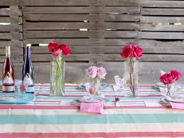 3 stylish summer table setting ideas