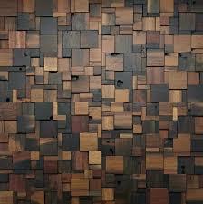 interior wall design materials stacked square wood walls a floor decor