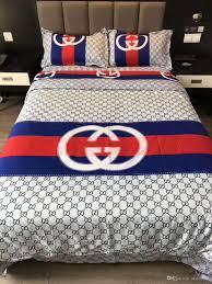 luxury brand bedding set standard size bed set cotton duvet cover bedsheet pillow case reactive printing home textile kids bedroom comforters childrens