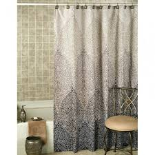 Safari Shower Curtain Carrington Ticking Shower Curtain Blue In Odd Shower  Curtains (Image 24 of