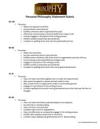 the most important essay for high school seniors the personal  there are many different ways to differentiate the requirements of a personal philosophy statement i have assigned this essay in a few different ways