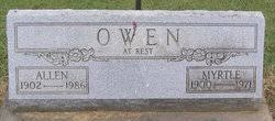 Mary Myrtle Lyons Owen (1898-1971) - Find A Grave Memorial