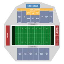Hancock Stadium Seating Chart Msu Bears Football At Isu Redbirds Football Normal Tickets
