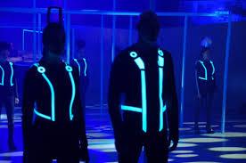 Tron Light Up Clothing Safety Vest Clothing Promotech Gulf Industry Llc