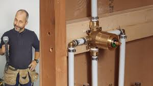How to install shower plumbing Pipes Diy How To Install Copper To Pex Shower And Bath Plumbing Youtube Diy How To Install Copper To Pex Shower And Bath Plumbing Youtube