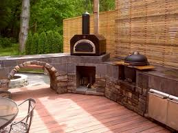 Pizza Oven Outdoor Kitchen Rustic Outdoor Kitchen With Pizza Oven Rustic Outdoor Kitchen In