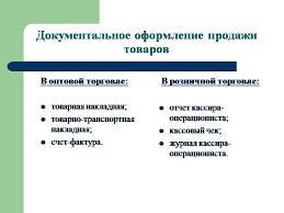 Дипломная работа Особенности бухгалтерского учета оптовой  Учет товаров в оптовой и розничной торговле диплом