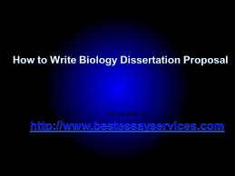 How To Write a Research Proposal  Write me biology thesis proposal