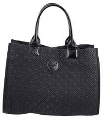 Tory Burch Ella * Quilted Tote Black Nylon/Patent Leather Hobo Bag ... & Tory Burch Ella * Quilted Tote Black Nylon/Patent Leather Hobo Bag - Tradesy Adamdwight.com