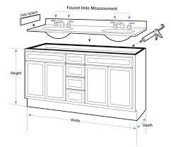 standard bathroom vanity height. Standard Bathroom Vanity Height And Depth Thedancingpa Com H