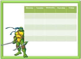 Free Printable Ninja Turtles Reward Charts Free Printable