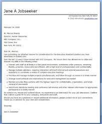 Ceo Personal Assistant Cover Letter Sarahepps Com