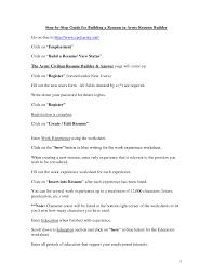 Ultimate Military Resume Builder Online In Online Resume Maker