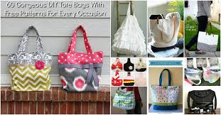 Free Tote Bag Patterns Best 48 Gorgeous DIY Tote Bags With Free Patterns For Every Occasion