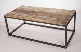 Elegant Wood Metal Coffee Table Metal Frame Wood Top Table Industrial  Coffee Tables Other