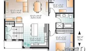 interior house plan. Brilliant Interior House Plan W3323 V3 Detail From Drummondhouseplans With Modern Split Level  Plans Decorating Interior  Interior L