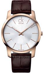 calvin klein men s watches men s rose gold calvin klein ck city watch k2g21629