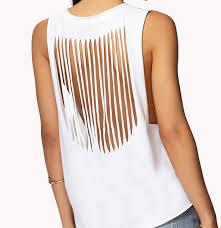 shirt cutting designs on t