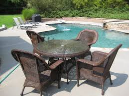 Patio Lowes Outside Chairs Outdoor Seating Sets Wicker Patio Set