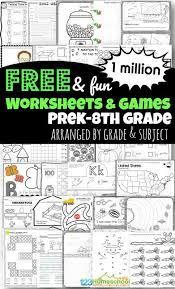 It develops fine motor skills, thinking, and fantasy. 1 Million Free Worksheets For Kids
