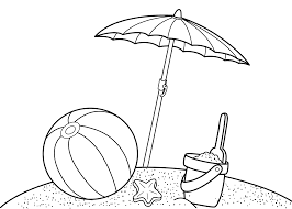 Small Picture Download Free Printable Summer Coloring Pages for Kids