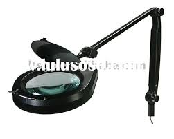 clamp on swing arm lighted magnifying lamp
