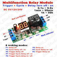 Dc 5 V/12 V/24 V LED Sonsuz Döngüsü Ev Otomasyon Gecikme Süresi Zamanlayıcı  ÜZERINDE Kontrol Rölesi KAPALı Anahtar Modülü Dijital Ekran PLC Kategoride.  Aktif Bileşenler. Newfashionmaded.news