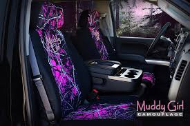 pink browning seat covers for trucks unique moonshine muddy girl neoprene low back bucket seat