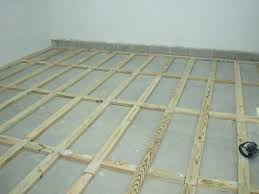 installing hardwood floors over concrete floor modest raised over concrete slab regarding hardwood installing wood floors