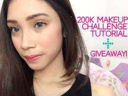 200k makeup challenge tutorial in bahasa stefanytalita